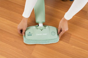 Bissell Steam Mop Hard-Floor Cleaner, Green Tea, 1867-7 Review