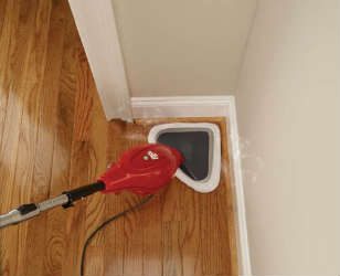 Dirt Devil PD20000B Steam Mop In Action